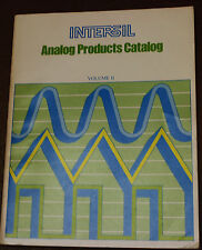 INTERSIL: Analog Products Catalog Volume II VINTAGE AMPLIFIER  PRODUCTS BOOK