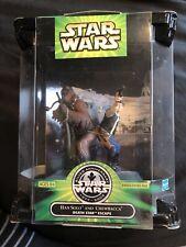 Star Wars Silver Anniversary Han Solo Chewbacca Death Star Escape Figure Set