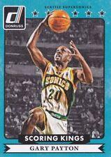 Gary Payton Seattle Supersonics Basketball Trading Cards