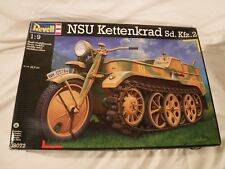 1/9 Revell German Motorcycle Tractor / Half Track NSU Kettenkrad Decals 4/4 Vers