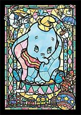 Tenyo Disney Dumbo Jigsaw Puzzle Stained Art 266pcs Stained Glass Type