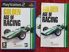 GOLDEN AGE OF RACING BLACK LABEL SONY PLAYSTATION 2 PS2 PAL