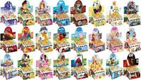 Great Selection of Disney Character's Bubbles with Puzzle Maze Lid