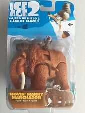 BNIP ICE AGE 2 WIND-UP MOVIN' MANNY MARCHADOR 3.5 INCH ACTION FIGURE!! RARE!!!