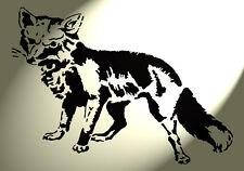 Stencil Shabby Chic in plastica ARTISTICO Fox Stencil A4 297x210mm Muro & Furniture