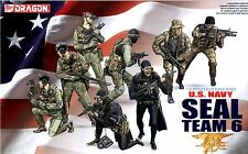 Dragon 1/35 3028 US Navy Seal Team 6 (World's Elite Force Series) (8 Figures)