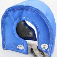 Turbo Blanket Heat Shield Blanket Turbocharger Cover Wrap Blue T4 GT40 GT42 T71