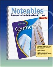 Glencoe Geometry, Noteables: Interactive Study Notebook with Foldables, McGraw-H