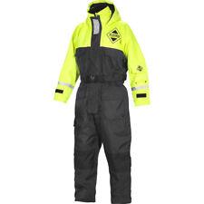 Fladen Flotation Suit 845, Schwimmanzug,Gelb/Schwarz, XXS bis XXL, Floatinganzug