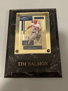 Tim Salmon #15 Los Angeles Angles of Anaheim Card Plaque Sealed Protected