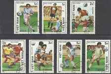 Timbres Sports Football Viet Nam 670/6 o lot 2703