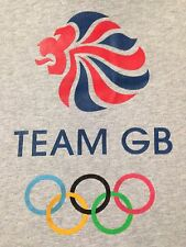 VINTAGE TEAM GB OLYMPIC T SHIRT LARGE