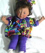 1984 Original Lee Middleton Teeny Weeny Preemy Black Ethnic Baby Doll Hazel Eye