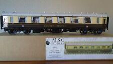 O Gauge MSC Models GWR Queen Mary Super saloon.