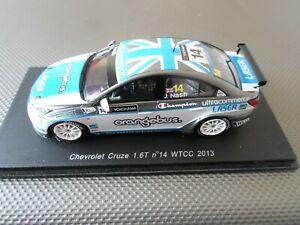 SPARK 1:43 MODEL CHEVROLET CRUZE 1.6T WTCC 2013 JAMES NASH