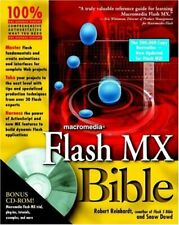 Flash MX Bible,Robert Reinhardt, Snow Dowd