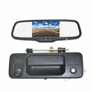 Tailgate Reverse Camera & Rear View Mirror Monitor for Toyota Tundra (2014-2018)