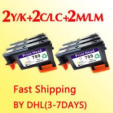 2set Fastshipping for hp789 printhead DesignJet L25500 789 CH612A CH613A CH614A