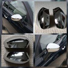 FIAT 500 C Convertable 08+ & GRANDE PUNTO 2008-16 L&R CHROME DOOR MIRROR COVERS