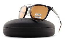 Serengeti Palmiro Clip On Sunglasses Satin Tortoise / Polarized Drivers 8054