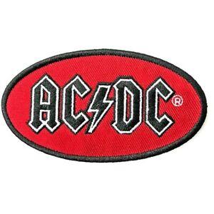 AC/DC Oval Logo Patch [UK Import] Memorabilia Emblem Logo ACDC Classic Patches
