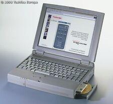 Vintage Toshiba Satellite 305CDS P166MMX 16MB 2GB Notebook Computer Windows 98