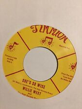 "Willie West And The High Society Brothers* - Cold In The Storm (7"", Single, Yel)"