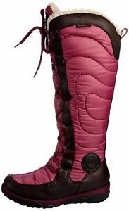 "Womens Ladies Timberland Mountain Winter Fleece Warm Tall Boots 18"" Size UK 6"