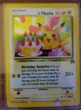 Pokemon Pikachu Birthday Surprise Holo #24 Black Star Promo Rare Card