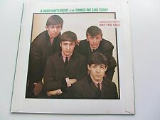 The Beatles 1976 UK 45 A Hard Days Night Not for Sale Manufacturers property