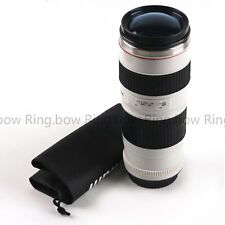 For Canon 70-200mm 1:1 Replica Mug Coffee Lens Thermos Drinking Cup Color Blue