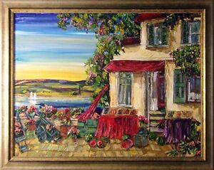"Maya Eventov ""Untitled"" Original Acrylic on Canvas, H.Signed 364903161  49""X37"""
