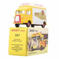 DINKY TOYS 1:43 Diecast 587 Camionnette CITROEN PHILIPS yellow Car Model Toy