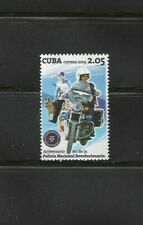 2019 Anniversary National Police Motorcycle Canine Caribbean Island Stamp Mnh