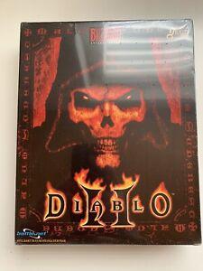 2000 Erstausgabe Sealed Diablo 2 II Classic Big Box Grading PC Blizzard CIB MINT