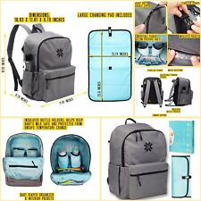 Extra Large Capacity Diaper Bag Backpack. Amazing Quality, Style and Design