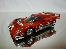 SOLIDO 197 FERRARI 512 M - SANDEMAN No 16 - RED 1:43 - GOOD CONDITION