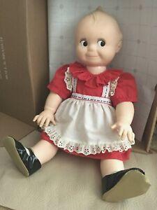 """Vintage Large 24"""" Cameo Kewpie Doll"""