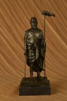 Greek God Saturn Holding Scythe Bronze Sculpture Hot Cast Figurine Figure Decor
