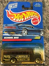 #1055 1999 School Bus Hot Wheels *Free Shipping
