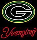 """New GREEN BAY PACKERS Yuengling Beer Neon Light Sign 20""""x16"""""""