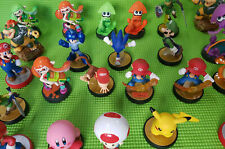 Nintendo amiibo figuras selección Zelda, link. Mario, Wario, splatoon, Bowser, etc.