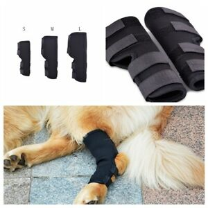 Dog Leg Rear 1 Pair Therapeutic Brace Hock Joint Knee Support Pet Care Tools