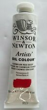 Winsor & Newton Artists' Oil Colour Series 4 37ml 1.25 fl CADMIUM RED DEEP NEW