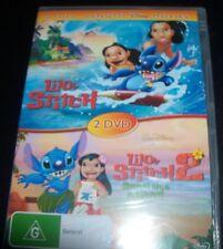 Lilo & Stitch 1 + 2: Stitch Has a Glitch  (Australian Reg 4) Disney - 2 DVD NEW