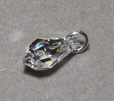 13.0 x 6.5 mm 'CRYSTAL AB' Crystal Pendant       (3001)