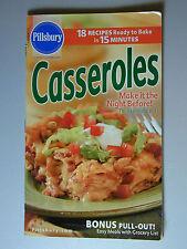 PILLSBURY Cookbook Booklet CASSEROLES  2003 #272