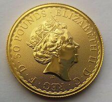 2020 Elizabeth II Gold Half Ounce 1/2oz Britannia Coin