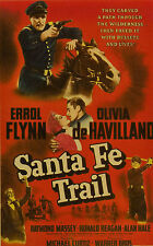 Santa Fe Trail 1940 Errol Flynn, Olivia de Havilland Adventure Western DVD