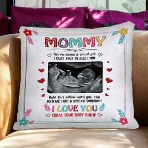 Personalized Hold This Pillow Until You Hole Me Tight Mommy Pillow From Bump